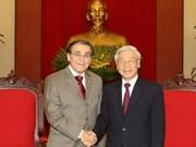Les communistes vietnamiens et brésiliens renforcent leurs liens