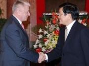 Le président du VN reçoit le vice-ministre slovaque de l'Economie