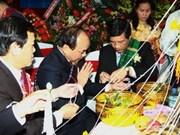 Le Nouvel An traditionnel du Laos célébré à Hanoi