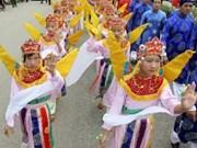 Festival de rue honorant la Terre ancestrale