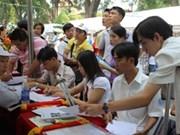 Fête de l'emploi pour les handicapés à Hano