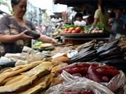 Un marché cambodgien dans la mégapole du Sud