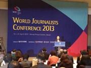 Conférence mondiale des journalistes à Séoul