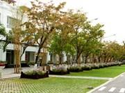 Un bâtiment vert pour protéger l'environnement