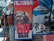 Cuba : célébration de la victoire de Giron à Hanoi
