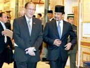 Les Philippines et le Brunei sont déterminés à renforcer leur coopération