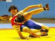 Vu Thi Hang vice-championne d'Asie de lutte libre