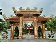 La pagode Tôn Thanh où venait vivre Nguyên Dinh Chiêu