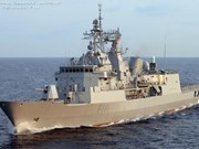 Un navire de la Marine néo-zélandaise à HCM-Ville