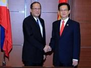 Le PM Nguyên Tân Dung rencontre des dirigeants aséaniens