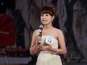 Concours de présentateurs sur la baie d'Ha Long