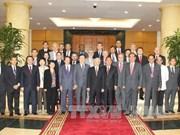 Le chef du PCV reçoit les chefs des délégations de l'ICAPP