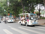À la (re)découverte du vieux quartier de Hanoi en minibus écolo