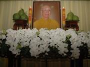 Funérailles du Vénérable Thich Tu Nhon à Hô Chi Minh-Ville