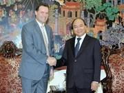 Le vice-PM Nguyên Xuân Phuc reçoit l'ambassadeur de République tchèque
