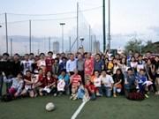 Nouveau tournoi de football de Vietnamiens en Italie