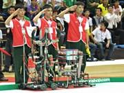 Le concours Robocon Vietnam 2013 réunit 32 équipes