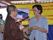 Cambodge: inauguration d'une école offerte par des donateurs vietnamiens