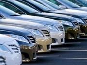 Augmentation de la taxe sur des voitures d'occasion