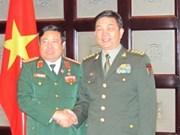 Défense: rencontre entre les ministres vietnamien et chinois