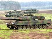 L'Allemagne va vendre des chars à l'Indonésie