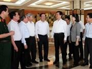 Le Premier ministre à l'écoute des électeurs de Hai Phong