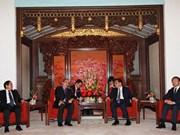 Entrevue entre Nguyên Thiên Nhân et Li Keqiang