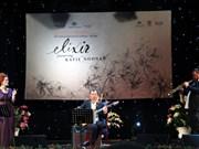 Le premier concert du trio de jazz australien Elixir à Hanoi