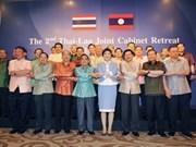 Thaïlande et Laos renforcent leur coopération bilatérale