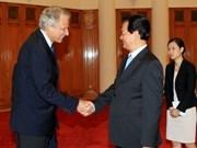 Le Vietnam estime particulièrement ses relations avec la France