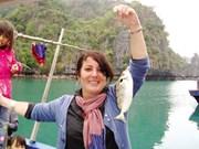 Dans la peau d'un pêcheur et heureux de l'être à Ha Long