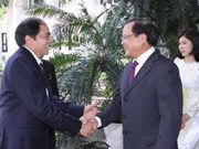Hanoi et Luang Prabang valorisent leurs potentiels de coopération