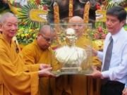 Célébration de l'immolation du bodhisattva Thich Quang Duc