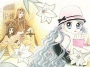 Exposition de personnages de dessins animés et de BD sud-coréens