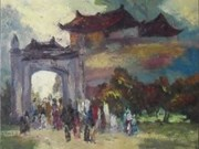 Exposition d'art du Vietnam à Vladivostok