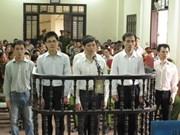 Nghe An: décision d'appel sur huit personnes accusées d'activités subversives