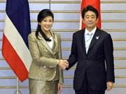 Thaïlande et Japon s'engagent à approfondir leurs relations