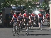 Pédiatrie : des Britanniques recueillent des fonds à vélo