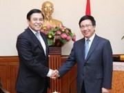 Consultation politique Vietnam-Thaïlande