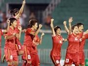Le onze féminin qualifié pour l'Asian Cup 2014