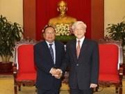Vietnam-Laos: liens renforcés entre les Fronts de la Patrie