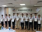 Maths: dix élèves vietnamiens qualifiés pour la finale de l'APMOPS 2013