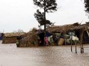 Elévation de la capacité de lutte contre les calamités naturelles