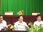 Le chef de l'État en tournée de travail à Soc Trang