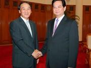 Le PM Nguyên Tân Dung reçoit l'ambassadeur sud-coréen
