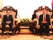 Une délégation du Comité de pilotage du Tây Bac au Laos