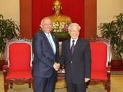Les dirigeants vietnamiens reçoivent le président de l'Assemblée Législative salvadorienne