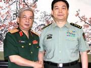 Nguyen Chi Vinh rencontre le ministre chinois de la Défense