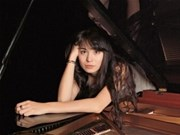 Une pianiste allemande en concert au Vietnam