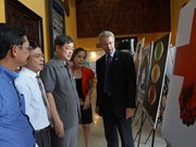 Exposition d'affiches finlandaises à Thai Nguyen
